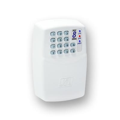 Detalhes do produto Discadora para até 8 números - JFL Disc-8 Sinal