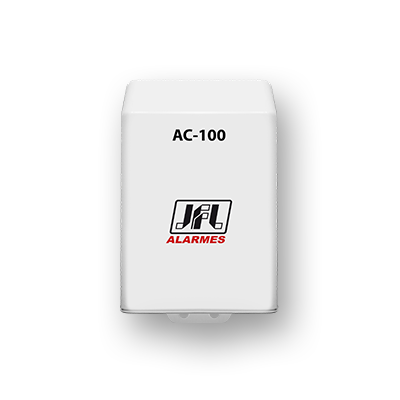 Detalhes do produto Receptor de 1 canal programável - JFL AC-100 Multifuncional