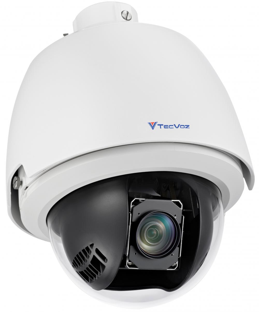 Detalhes do produto Câmera IP IR PTZ 20x - TW-ISP300IR Tec Voz