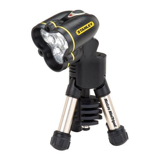 Detalhes do produto Mini lanterna LED MaxLife com tripé 95-111