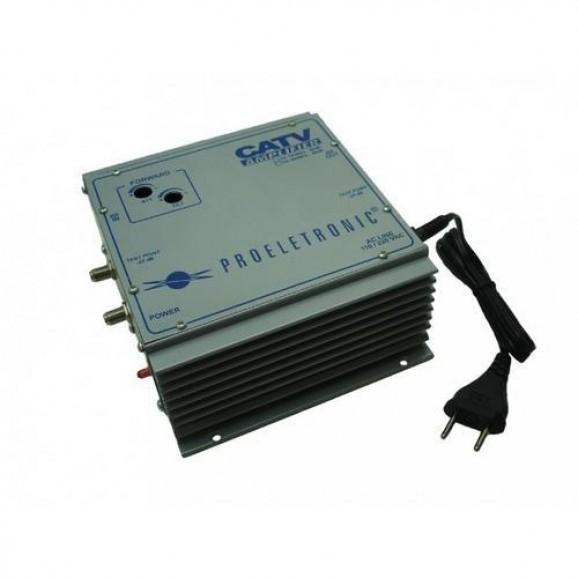 Detalhes do produto Amplificador De Potência 50db Bivolt Pqap 7500 Proeletronic