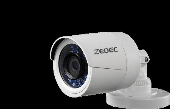 Detalhes do produto CÂMERA ZEDEC HD BULLET IR