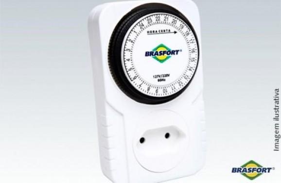 Detalhes do produto Timer Analógico 60HZ Bivolt