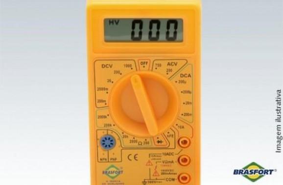 Detalhes do produto Multimitro Digital DT 830
